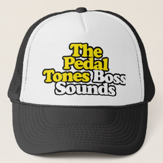 Boss Sounds Hat with Black Outline