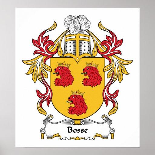 Bosse Family Crest Print