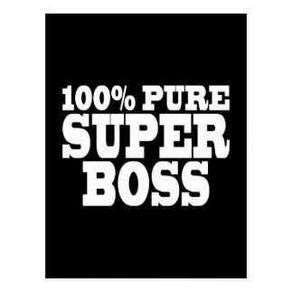 Bosses Birthday Parties : 100% Pure Super Boss Postcard