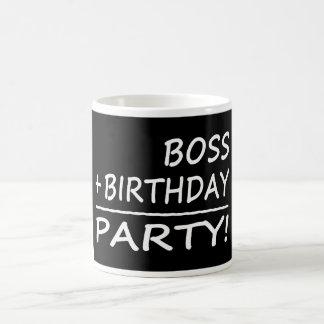 Bosses Birthdays : Boss + Birthday = Party Coffee Mug