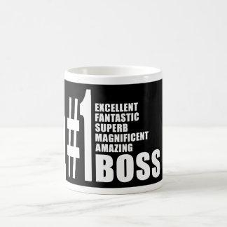 Bosses Birthdays Gifts : Number One Boss Classic White Coffee Mug