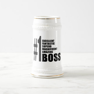 Bosses Birthdays Gifts : Number One Boss Coffee Mugs