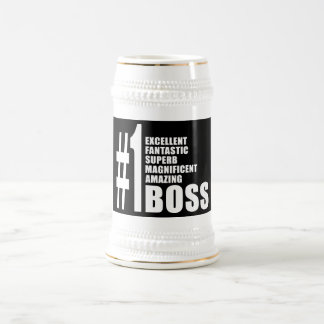 Bosses Birthdays Gifts : Number One Boss Mugs