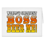 Bosses Office Parties Worlds Greatest Boss Beer Me