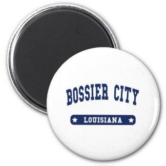 Bossier City Louisiana College Style t shirts Magnet