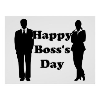 Boss's Day Poster