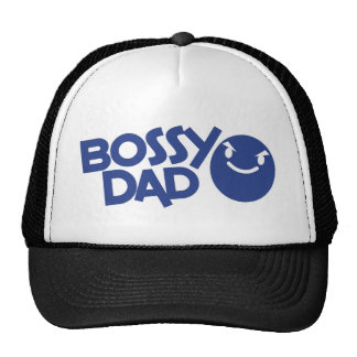 bossy dad mesh hat