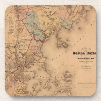 Boston 1861 coaster