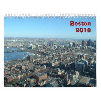 Boston 2010 calendars