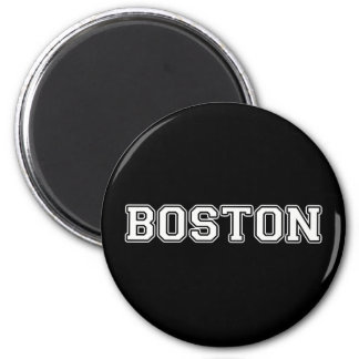 Boston 2 Inch Round Magnet