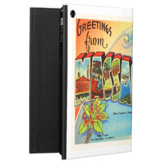 Boston #2 Massachusetts MA Vintage Travel Souvenir iPad Air Covers