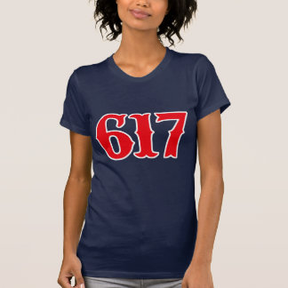 Boston 617 - Boston Strong! T-Shirt