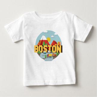Boston As A Destination Baby T-Shirt