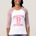Boston B Strong Grunge Style Tee Shirts