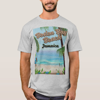 Boston bay beach, Jamaica T-Shirt