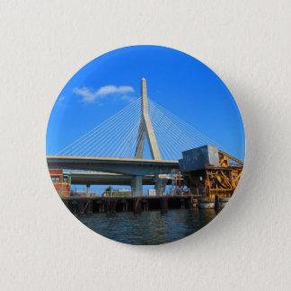 Boston Bridge Photo on gifts 2 Inch Round Button