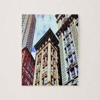 Boston Buildings Jigsaw Puzzle