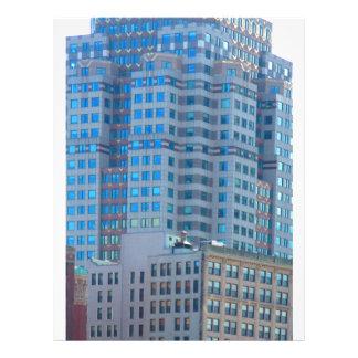 BOSTON Buildings Towers Architecture Letterhead