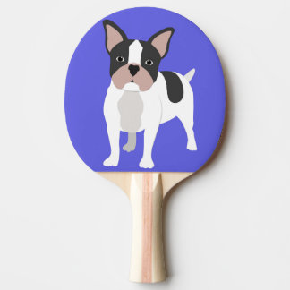 Boston Bull Terrier Ping Pong Paddle