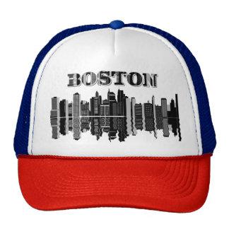 Boston cap trucker hat
