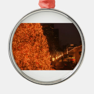 Boston Christmas Tree Faneuil Hall Marketplace Metal Ornament
