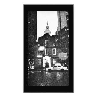 Boston Church Art Photo