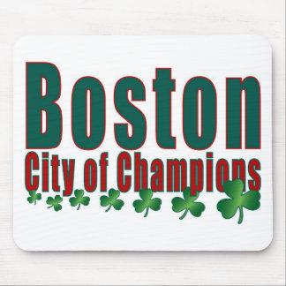 Boston City of Champions Mouse Pad