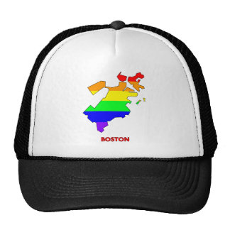 Boston City Pride Shirt Lesbian Pride Parade Top Trucker Hat