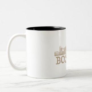 Boston City skyline mug