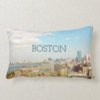 Boston City Skyline Pillow