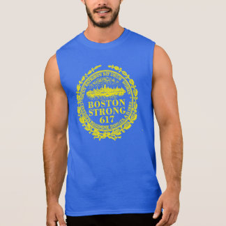 Boston City Strong Remembers Sleeveless Shirt