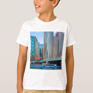 Boston  city Urban Landcape towers arcchitecture T-Shirt