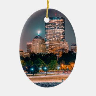 Boston Common Ceramic Ornament