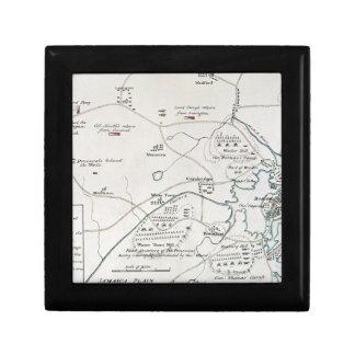 BOSTON-CONCORD MAP, 1775 GIFT BOX