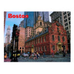 Boston Downtown Postcard