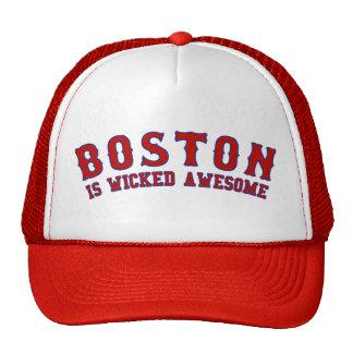 Boston est impressionnant mauvais casquette de camionneur