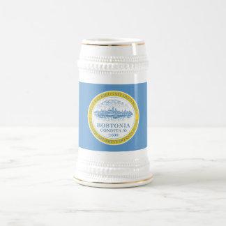 Boston Flag Beer Stein