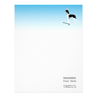 Boston Great Dane Letterhead