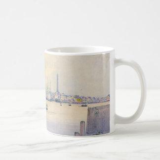 Boston Harbor 1846 Coffee Mug