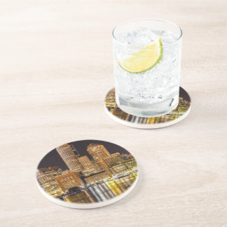 Boston Harbor Beverage Coasters