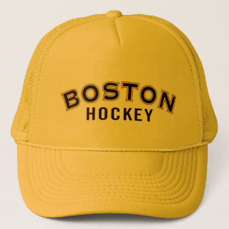 Boston Hockey Gold Trucker Hat