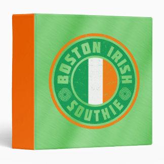 Boston Irish Southie Binder