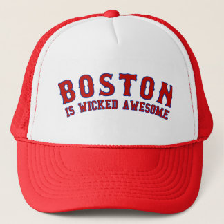 Boston is Wicked Awesome Trucker Hat