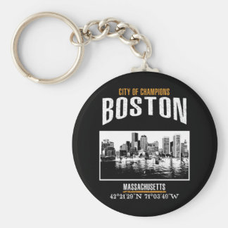 Boston Keychain