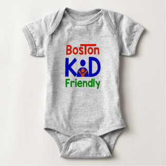 Boston Kid Friendly Baby Bodysuit