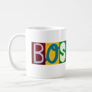 Boston Letters Mug