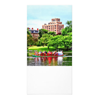 Boston MA - Boston Public Garden Picture Card