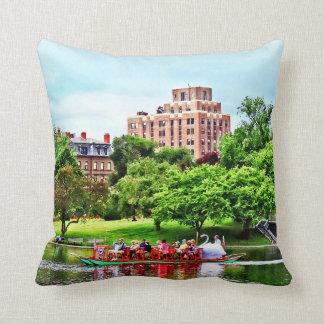 Boston MA - Boston Public Garden Throw Pillow