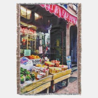 Boston MA - Fruit Stand Throw