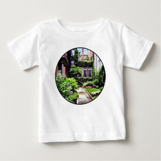 Boston MA - Hidden Garden Baby T-Shirt